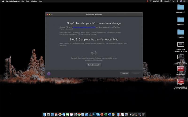Key Parallels Desktop 15.1.3.47255 mới nhất 2020 và hướng dẫn cài đặt 15
