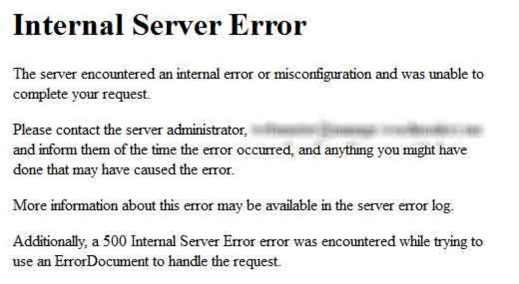 Cách sửa lỗi500 internal server error trongWordPress 2