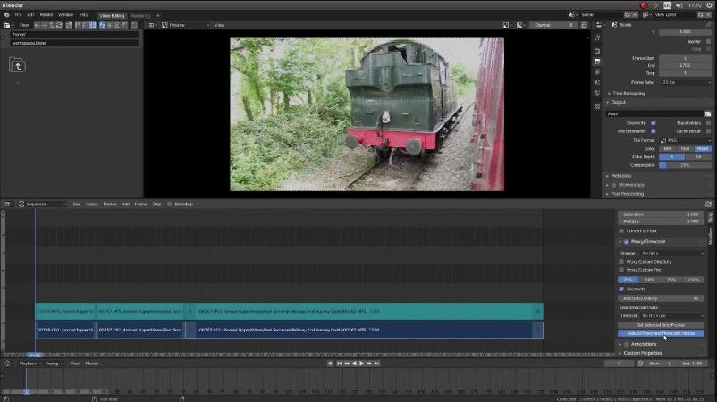 phần mềm edit video blender