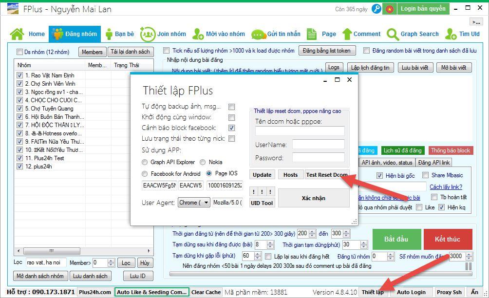 Phần mềm Plus24h hỗ trợ Marketing đa kênh Facebook, Zalo, Instagram tốt nhất hiện nay 6