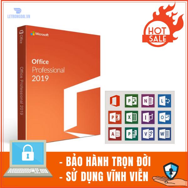Microsoft Office 2019 Standard 32/64 bit - Key bản quyền sử dụng vĩnh viễn 1
