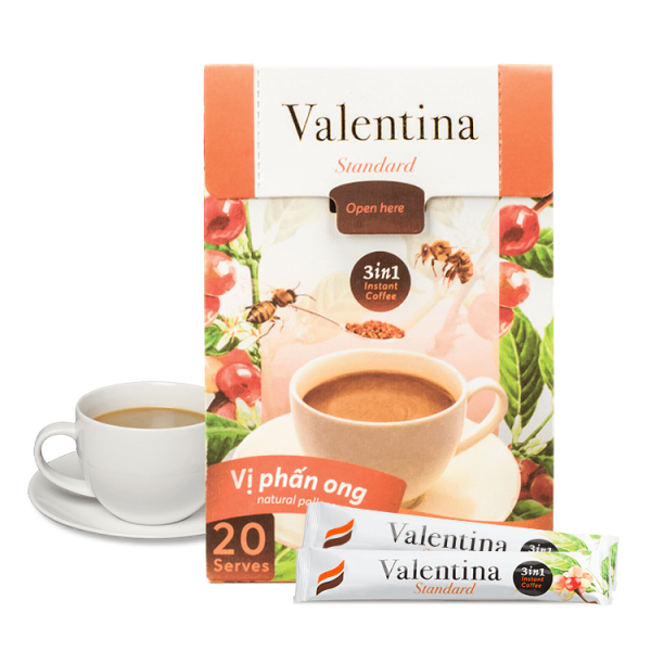Cà Phê Sữa Valentina Honee Coffee - 320g