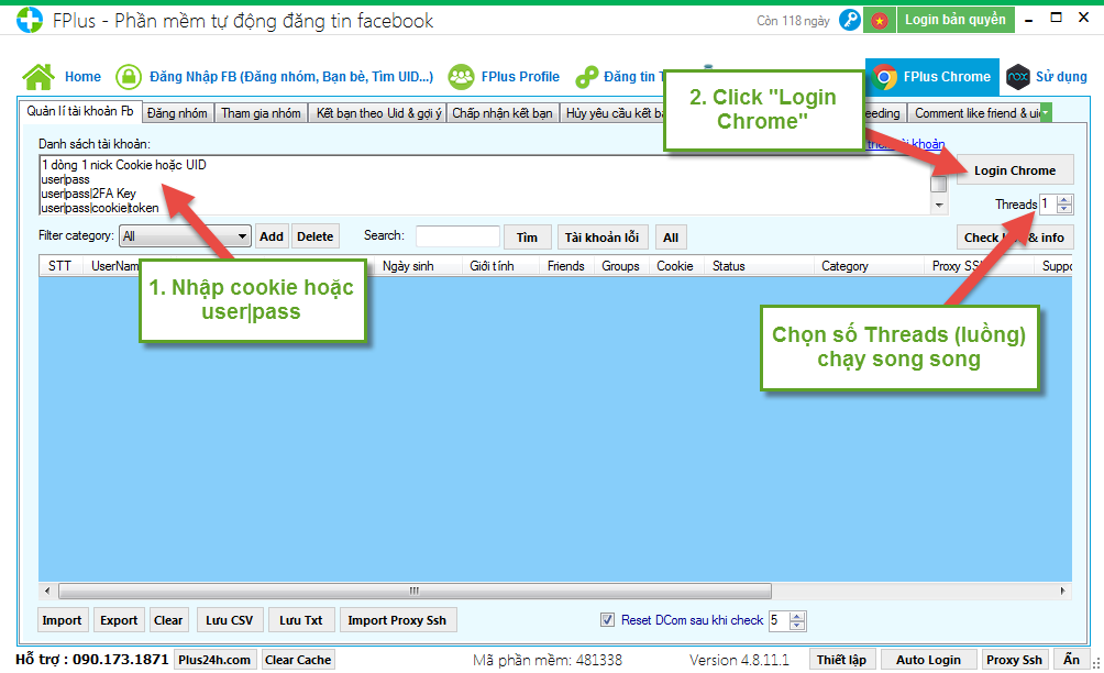 Hướng dẫn tự động rời nhóm trên Facebook hàng loạt nhanh nhất bằng FPlus Chrome 1