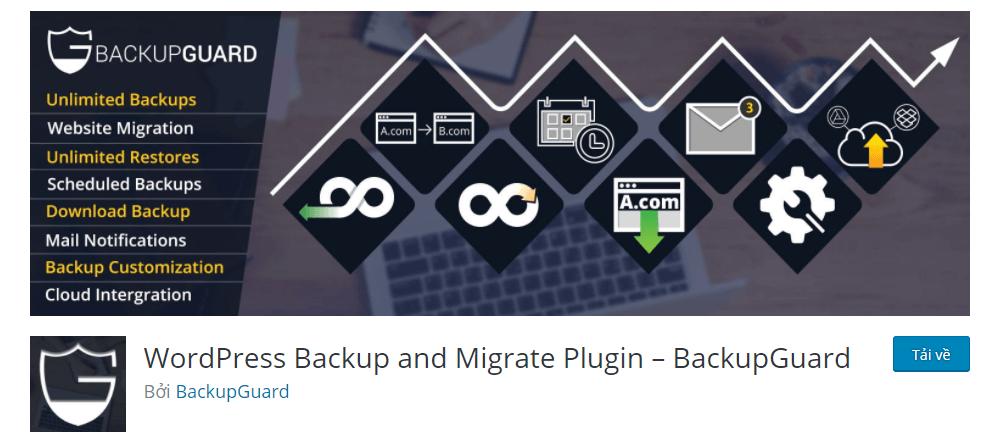 10+ Plugin Backup Wordpress tốt nhất hiện nay (Cập nhật 2020) 3