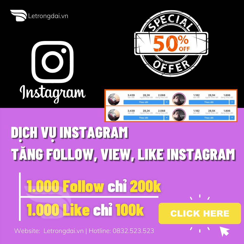 Dịch Vụ Instagram Qc