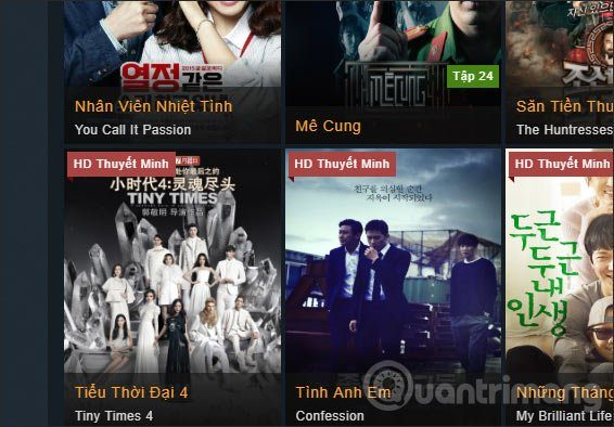 [Tổng hợp] 20+ Website xem phim chất lượng cao (Thuyết minh) 7
