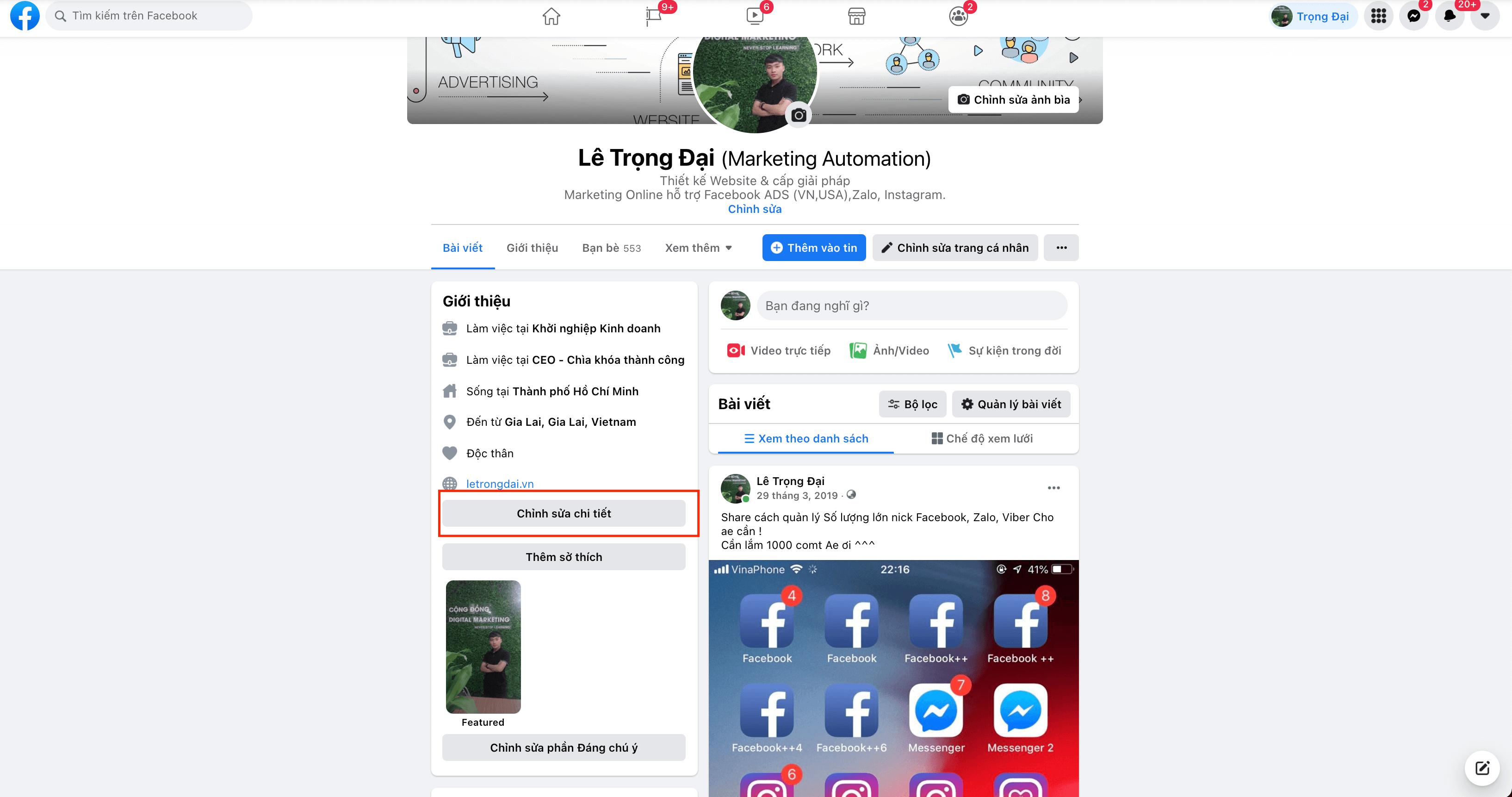 Cách làm hiển thị số người, lượt theo dõi trên Facebook cá nhân