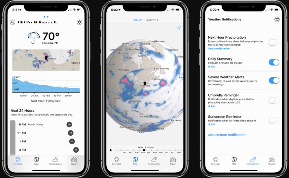 [Tổng hợp] 15+ phần mềm dự báo thời tiết tốt cho thiết bị Android và iOS 9