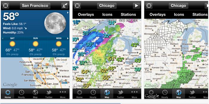 [Tổng hợp] 15+ phần mềm dự báo thời tiết tốt cho thiết bị Android và iOS 14