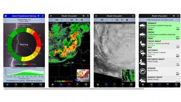 [Tổng hợp] 15+ phần mềm dự báo thời tiết tốt cho thiết bị Android và iOS 10