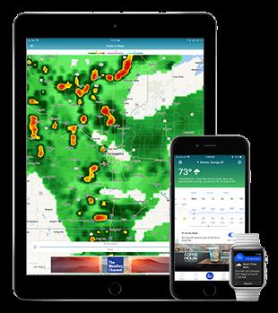 [Tổng hợp] 15+ phần mềm dự báo thời tiết tốt cho thiết bị Android và iOS 8