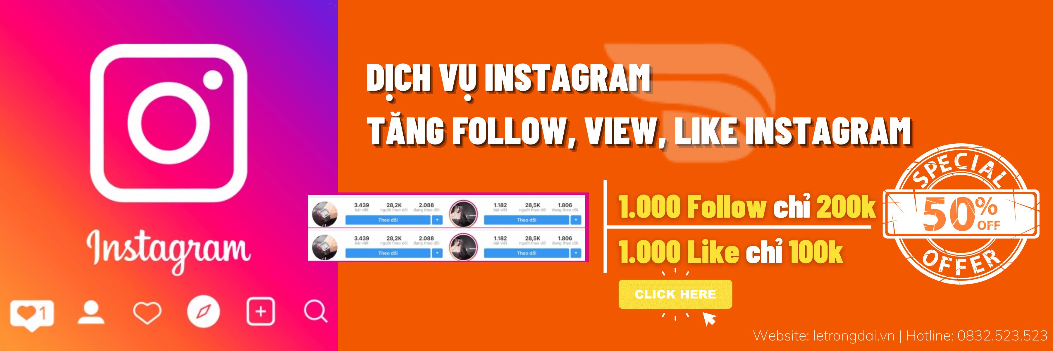 Dịch Vụ Instagram
