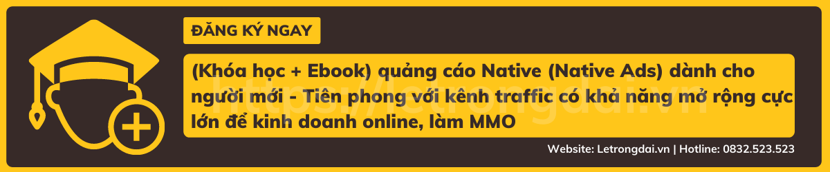 (khóa Học + Ebook) Quảng Cáo Native (native Ads) Dành Cho Người Mới Tiên Phong Với Kênh Traffic Có Khả Năng Mở Rộng Cực Lớn để Kinh Doanh Online, Làm Mmo