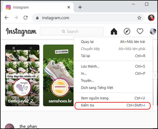 cách đăng video lên instagram bằng máy tính