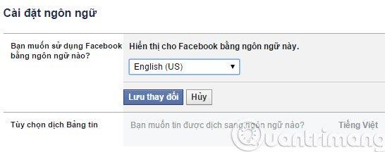 cách đổi tên facebook quá 5 lần