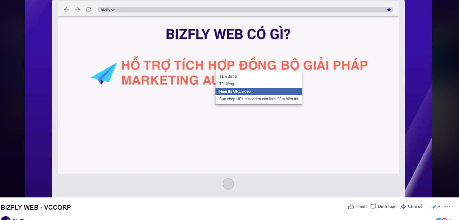 cách lấy link bài viết facebook