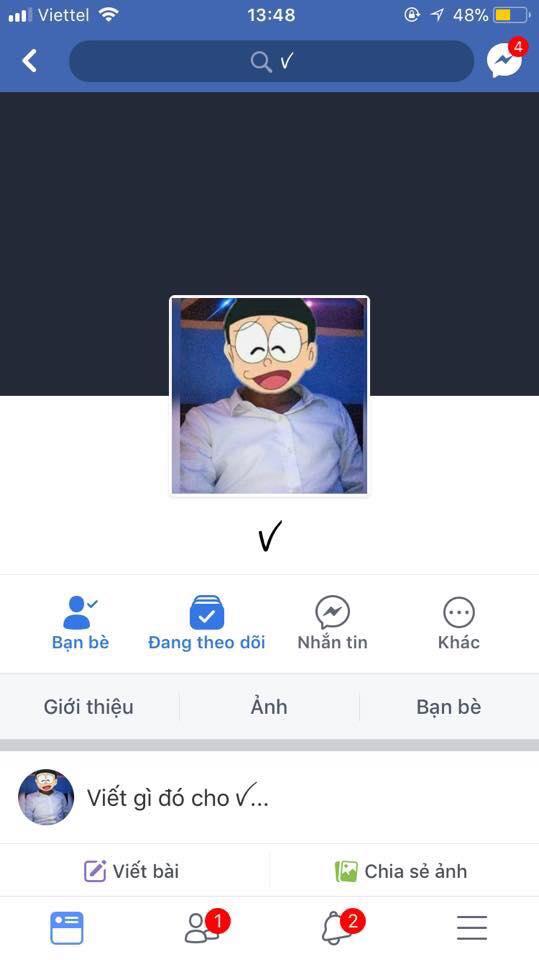 cách thêm tên trong ngoặc trên facebook