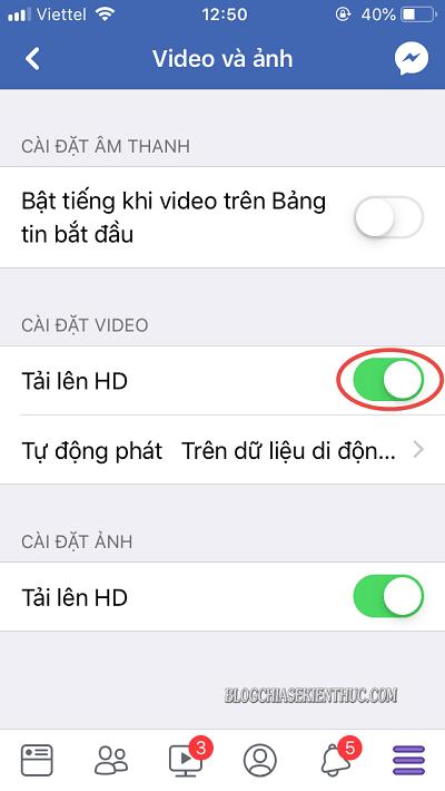 cách up video lên facebook không bị giảm chất lượng