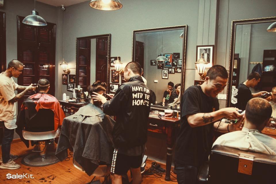 kinh nghiệm mở tiệm cắt tóc nam
