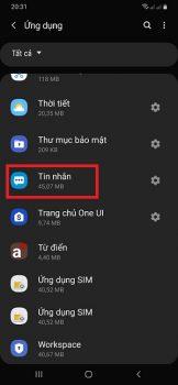 lỗi không gửi được tin nhắn trên android