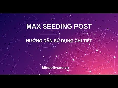 Max Seeding Post
