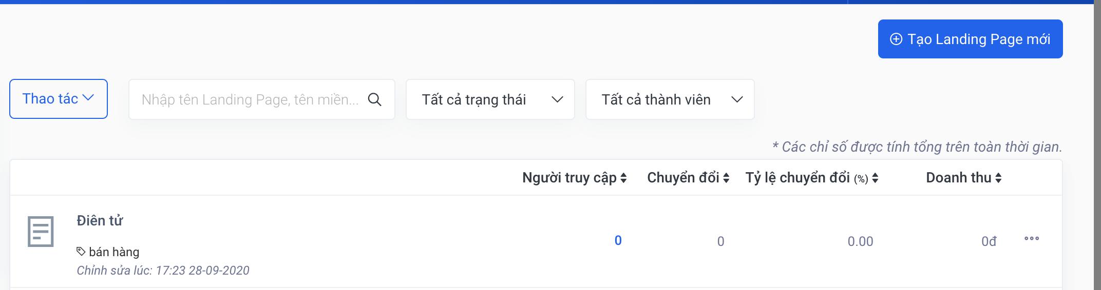 Hướng dẫn sử dụng mẫu Landing Page chủ đề Thank You Page đẹp miễn phí