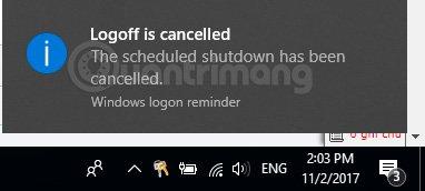 auto shutdown