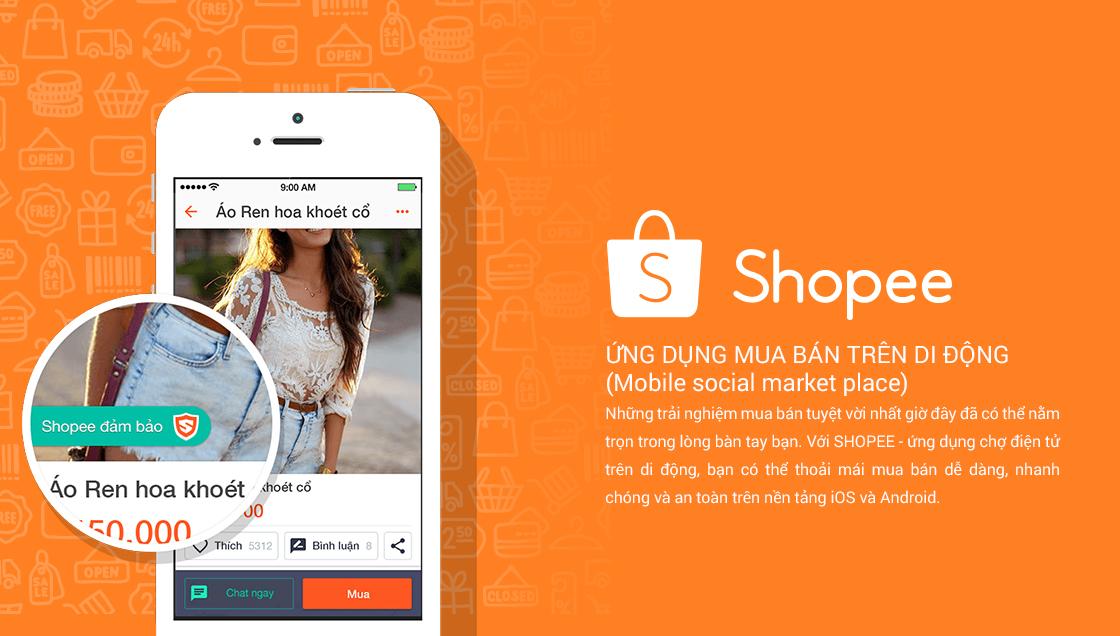 cách bán hàng trên shopee bằng điện thoại