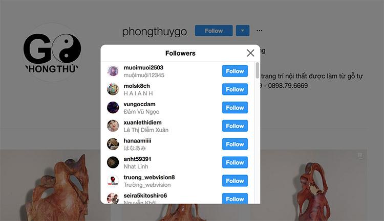 cách tăng follow trên instagram
