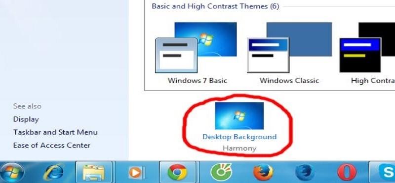 cách thay đổi hình nền máy tính
