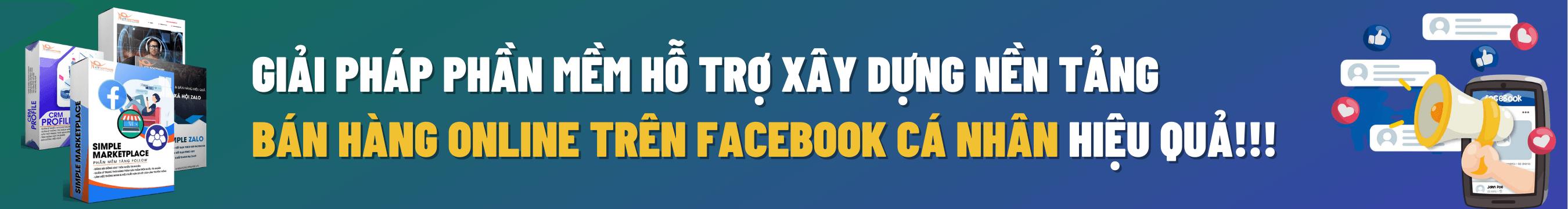 Combo Ban Hang Facebook Profile 2