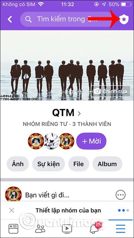 đổi tên group facebook