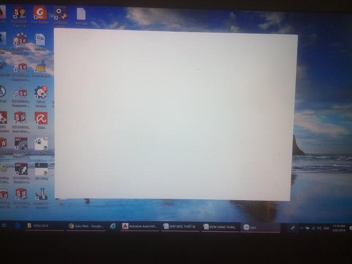lỗi không mở được zalo trên máy tính