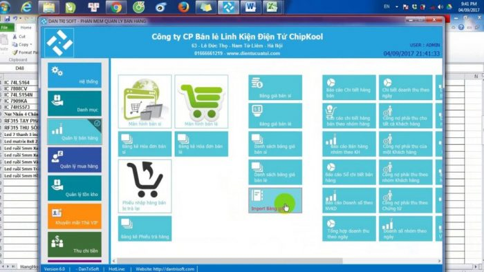 phần mềm quản lý bán hàng offline