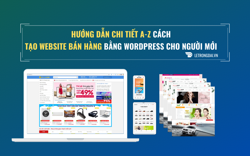 Hướng Dẫn Làm Website Bán Hàng 12