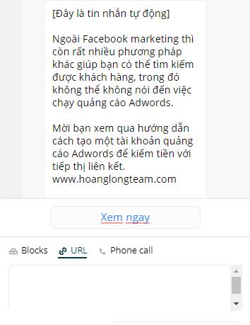 cách gửi tin nhắn cho nhiều người trên fanpage