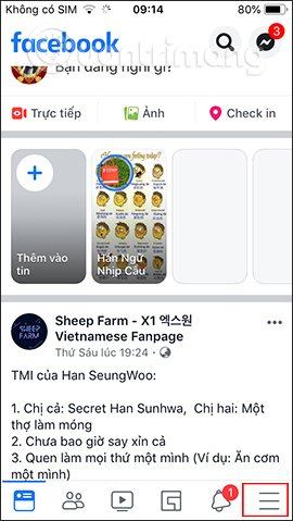 cách khoá facebook tạm thời trên điện thoại