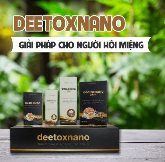 Deetoxnano là gì?