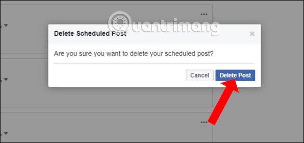 hẹn giờ đăng bài trên facebook