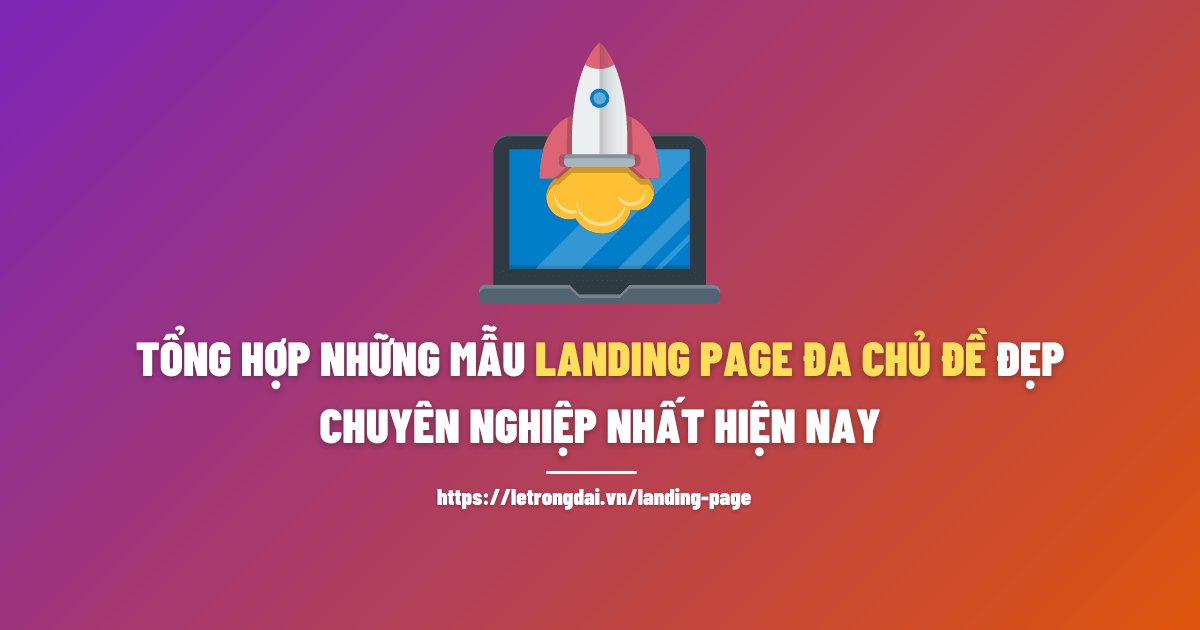 Những Mẫu Landing Page Da Chủ Dề Dẹp 1