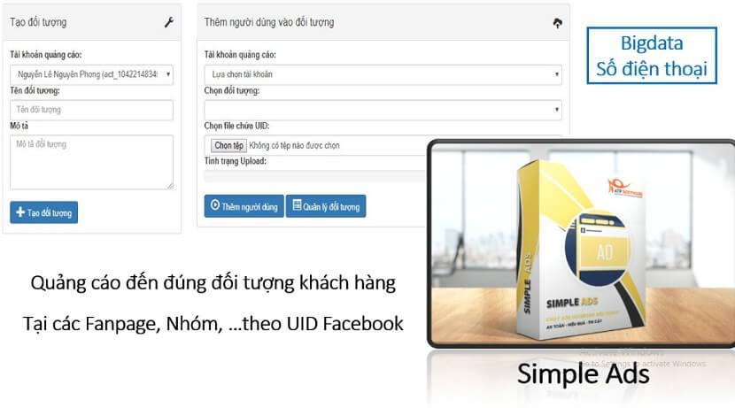 phần mềm quảng cáo facebook