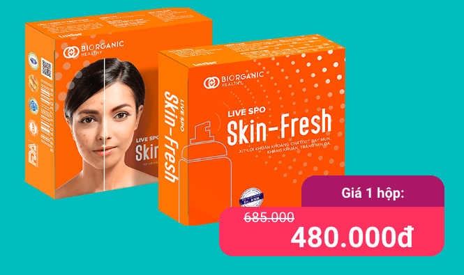 Skin Fresh là gì? Combo 2 Skinfresh có tốt không? Giá bao nhiêu? Mua ở đâu uy tín