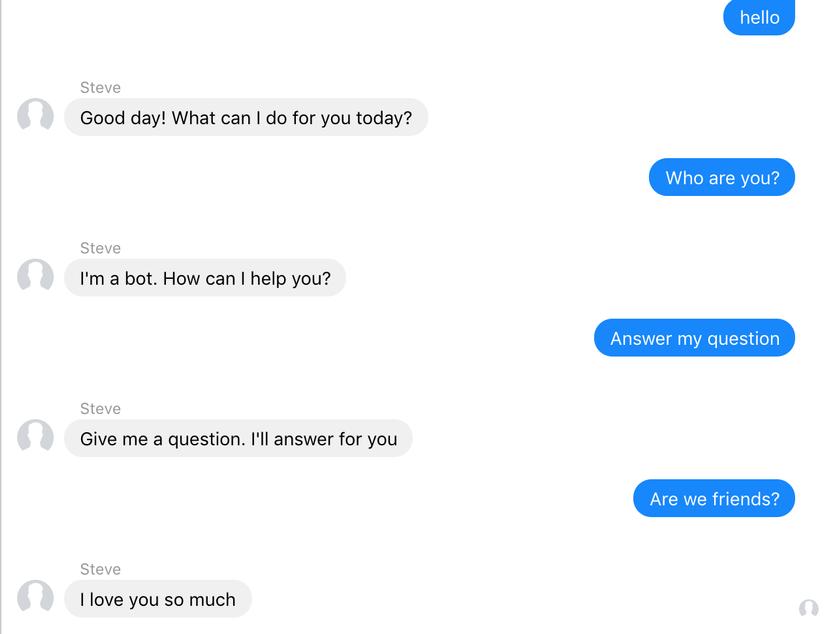 tạo chatbot cho facebook cá nhân