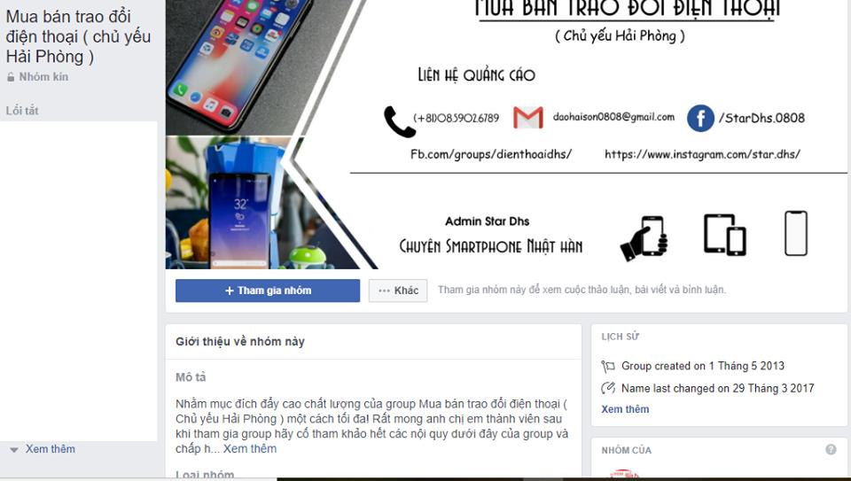các group bán hàng trên facebook