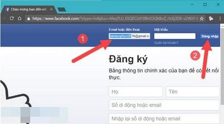 quên mật khẩu messenger facebook