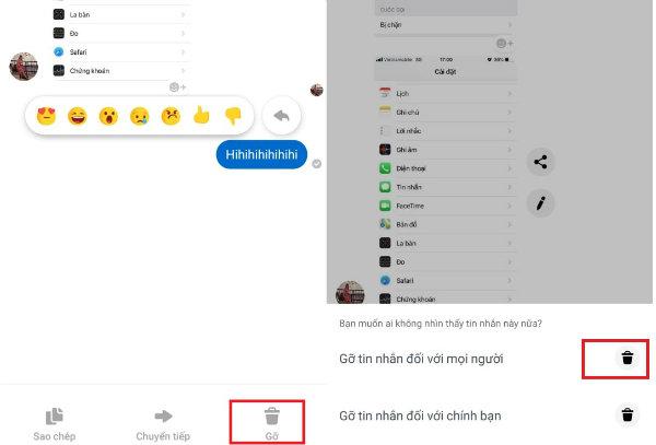 Xoa Tin Nhan Gui Nham Tren Facebook