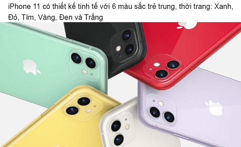 Iphone 11 Co Bao Nhieu Mau Mua Mau Nao Hop Phong Thuy 1 Min
