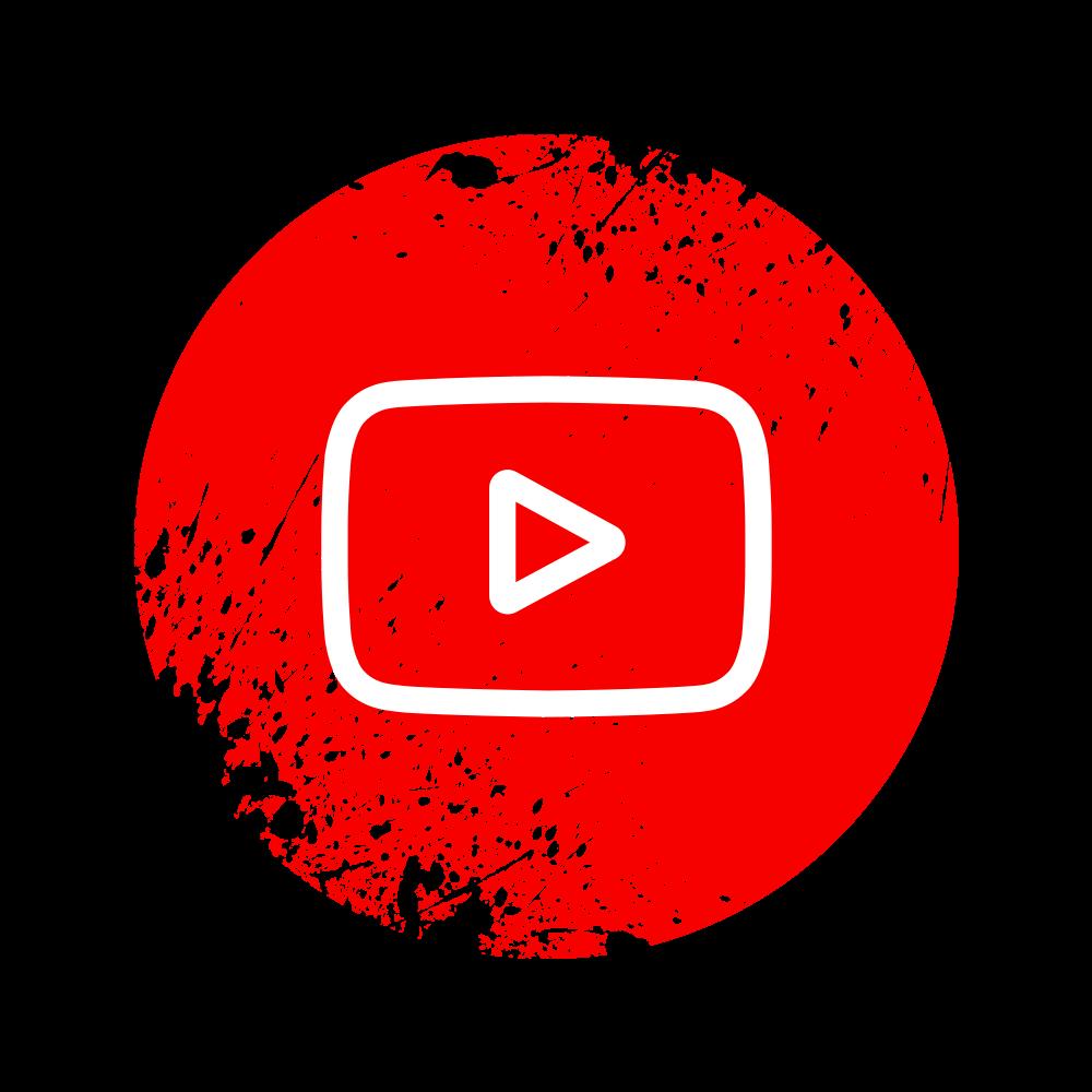 Youtube Splash Icon Png
