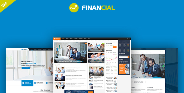 11494 Financial V10 Business And Financial Wordpress Theme