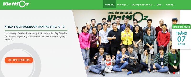 Học Facebook Marketing ở Vietmoaz